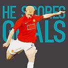 Paul Scholes - He Scores Goals by tookthat