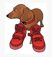 Jeff in Red Octobers Toon Photographic Print