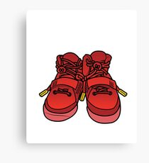 Yeezy Red October Canvas Print