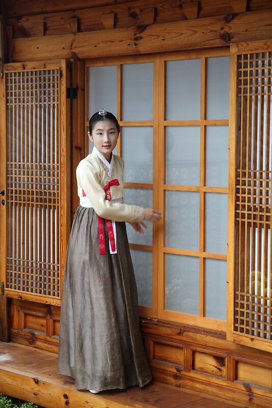 Quot Korean Hanok And Hanbok Quot By Jane Mcdougall Redbubble