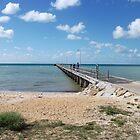 Rosebud Pier by MitchConway101