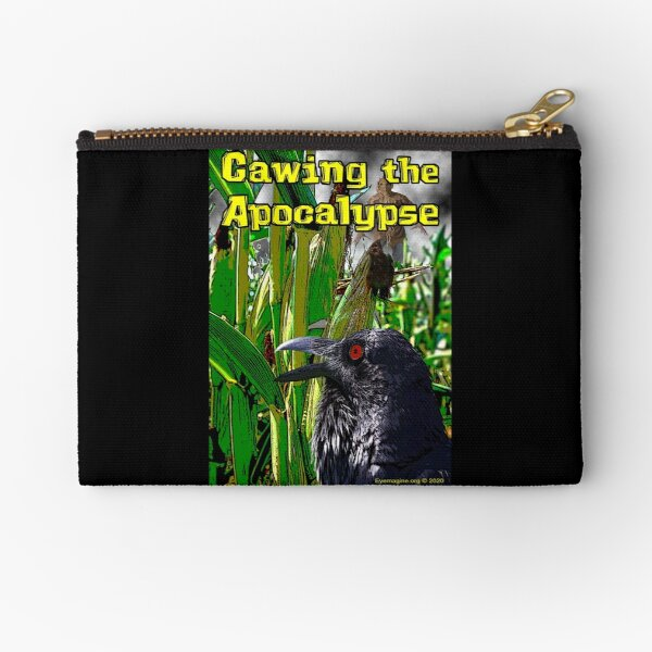 Cawing the Apocalypse Zipper Pouch