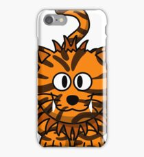 Goofy tiger iPhone Case/Skin