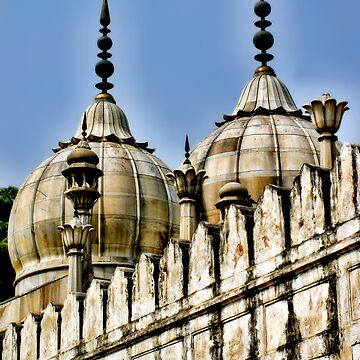 Temples of the Red Fort by HappyDesigner