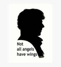 Not All Angels Have Wings - BBC Sherlock Art Print