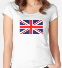 Great Britain Flag Women's Fitted Scoop T-Shirt