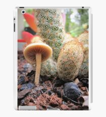 Tiny Fungi & A Cactus iPad Case/Skin