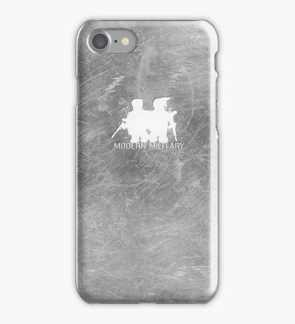 Modern Military Metal iPhone Case/Skin