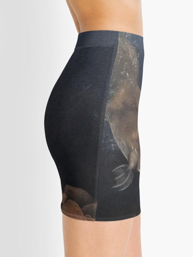 Vista alternativa de Minifalda Bucear ornitorrinco