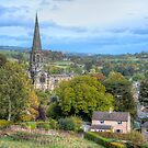 """Autumn comes to Bakewell"" by Bradley Shawn  Rabon"