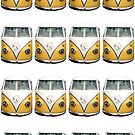 vw pop art by andytechie