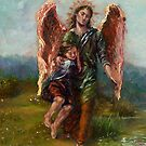 Archangel Raphael with Tobias by 1cscheid