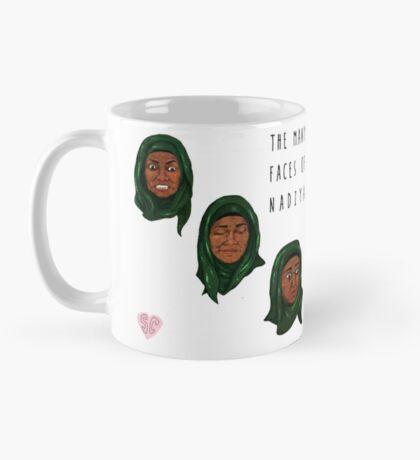 The Many Faces of Nadiya, GBBO Mug