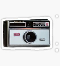 retro camera iphone case Sticker