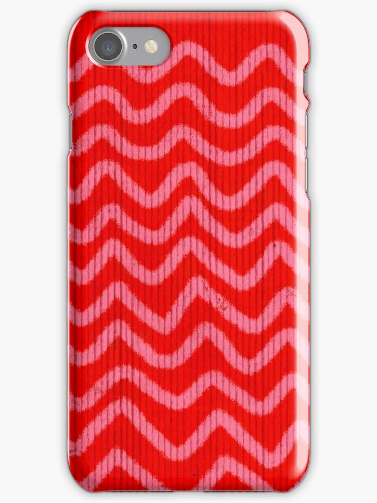 Handmade Chevron iPhone Case by rupydetequila