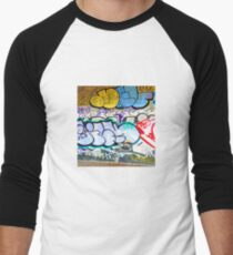 Brooklyn Graffiti 11 Men's Baseball ¾ T-Shirt