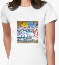 Brooklyn Graffiti 11 Women's Fitted T-Shirt