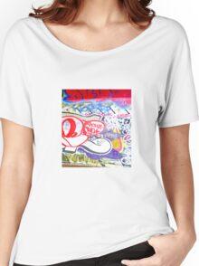Brooklyn Graffiti 10 Women's Relaxed Fit T-Shirt