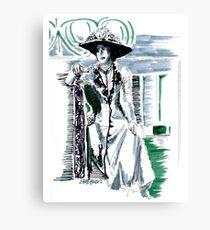 Lady Grantham Canvas Print