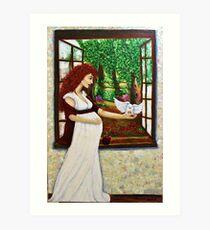 Sacred Feminine Art Print