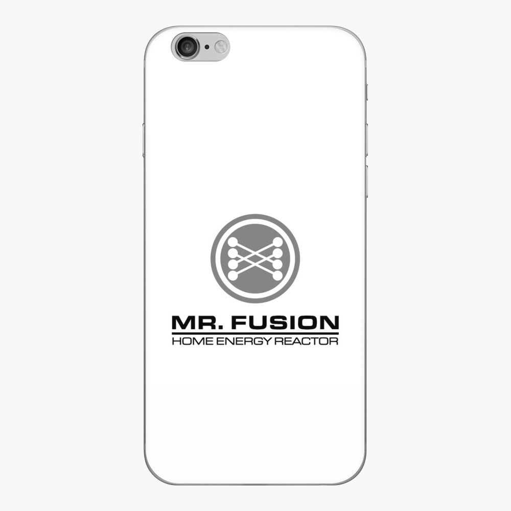 Mr. Fusion iPhone Case iPhone Klebefolie