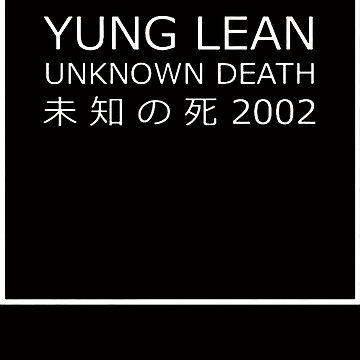 Yung Lean Unknown Death 未 知 の死 Japan by YogiStore