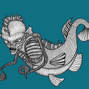 The Fiji Mermaid by BettyRocksteady