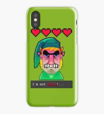 I´M NOT ZELDA! iPhone Case