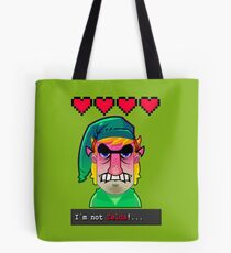 I´M NOT ZELDA! Tote Bag