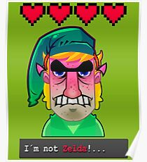 I´M NOT ZELDA! Poster