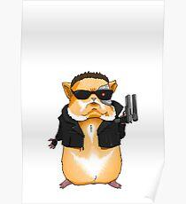 Hamster Terminator Poster