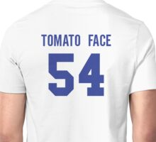 Seth Rogan Dale Denton Pineapple Express Tomato Face 54  Unisex T-Shirt