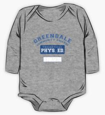Greendale Theoretical Phys. Ed.  One Piece - Long Sleeve