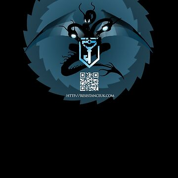 ingress : dragon (black variant) by precociousmouse