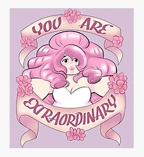 You Are Extraordinary Photographic Print