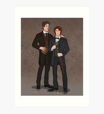 Whyborne & Griffin Art Print