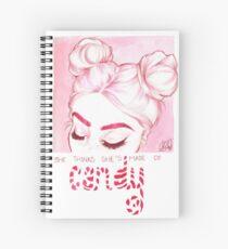 Candy Spiral Notebook