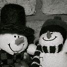Snowmen (2) by Lou Wilson