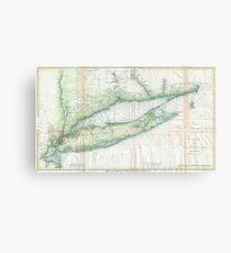 Long Island Wall Art old map of long island: wall art | redbubble