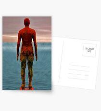 antony gormley men Postcards