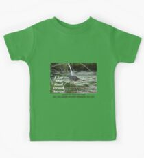I Am the Real Green Heron! Kids Tee
