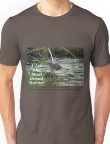 I Am the Real Green Heron! T-Shirt