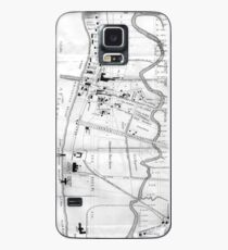 Vintage Map of Coney Island (1879) Case/Skin for Samsung Galaxy