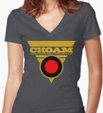 Dune CHOAM Women's Fitted V-Neck T-Shirt
