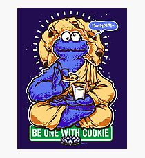 One With Cookie Photographic Print