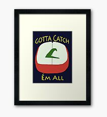Pokèmon Hat - Ash Ketchum Framed Print