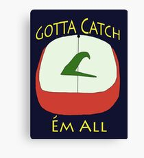 Pokèmon Hat - Ash Ketchum Canvas Print