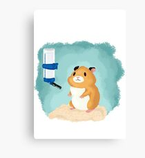 Hamster life Canvas Print
