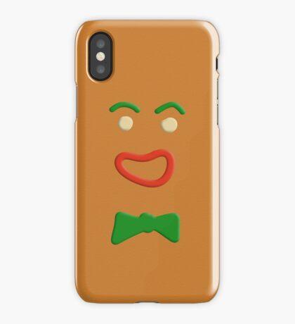 Gingerbread Man iPhone Case