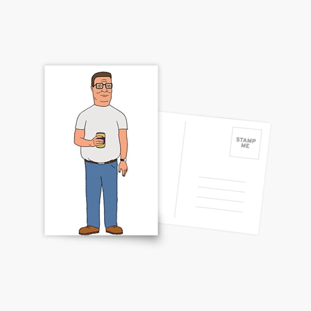 Dank Hank Postcard